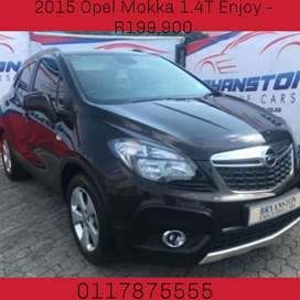 2015 Opel Mokka 1.4T Enjoy - R199,900