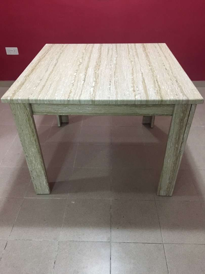 Dining Table 1m by 1m 0