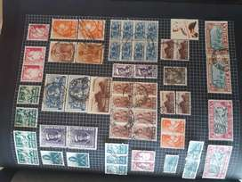Great Grandfathers Stamp Collection for Sale