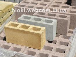 Шлакоблок от производителя, камень заборный 380х190х120, доставка