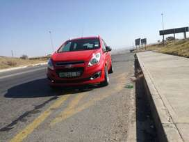 Fresh Chevrolet Spark, with nice rims and new tyres