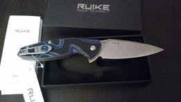 Nóż Ruike składany Fang P105-Q czarno-niebieski - 157zł