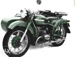 Ремонт, покраска, реставрация мотоциклов Днепр Урал К750 МТ М72.