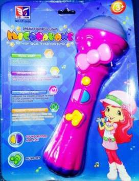 DREAM COLORFUL LIGHT MICROPHONE