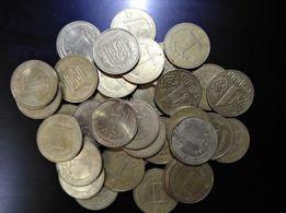 Продам Монету 1 одна ГРИВНЯ 50шт