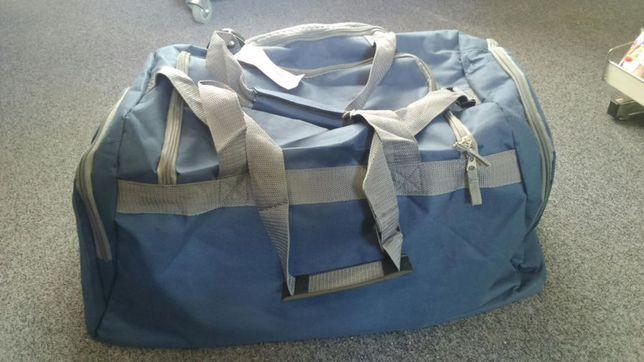 Torba podróżna duża dwa kolory fiolet granat nowa bagaż na podróż Hit Sierakowice - image 8