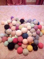 Продаю нитки разного качества и цвета,10 кг!