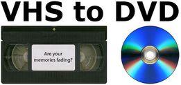 Оцифровка(перезапись) видеокассет VHS, VHS-C, miniDV на DVD 25 грн/час