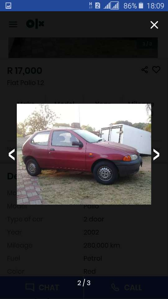 Fiat palio in good condition 0