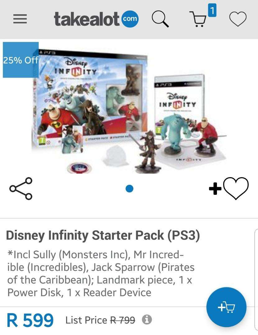 Brand New - Disney Infinity Starter Pack - PS3 0