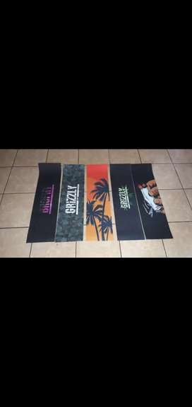 Grizzly skateboard grip tape