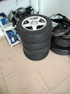 Rims and brand new tyres