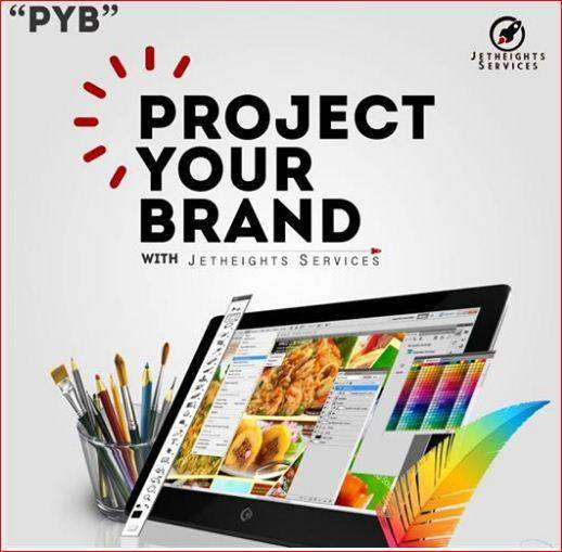 Project your brand, Advertise your business 0