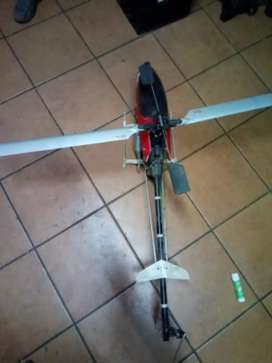 Fuel operated helicopter with remote for sale