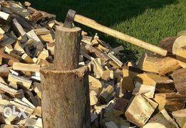 Дрова дубовые, дрова для камина