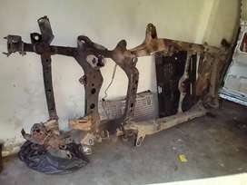 Complete chassis Toyota Fortuna / hilux