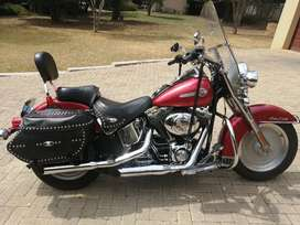 Harley Davidson presents as new