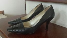 ARRADO eleganckie czółenka czarne 36 bdb