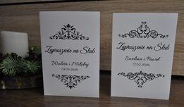 Zaproszenie ślubne, klasyczne