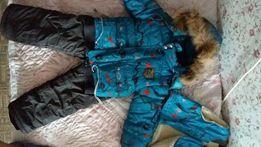 Зимний термо костюм 3в1