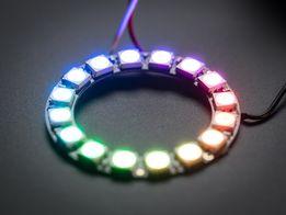 Светодиодное кольцо NeoPixel WS2812B на 16 LED 5050 для Arduino