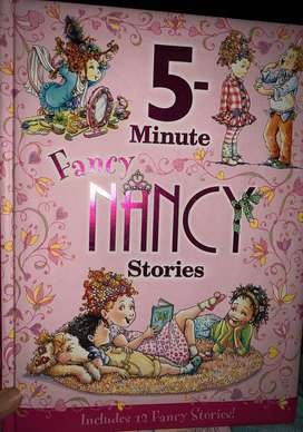 Fancy Nancy story book (12 stories included)