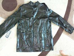 25кожаный пиджак новый 3XL
