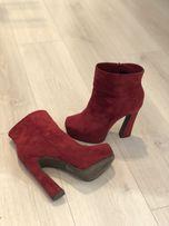 Замшевые ботинки plato, новое состояние