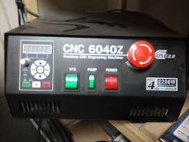 CNC 6040 Router/Milling machine - 8 months old