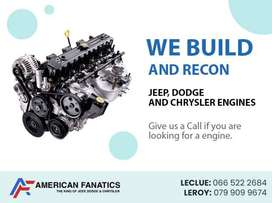 We build and recon Jeep , Dodge & Chrysler Engines