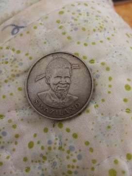 Swaziland coin, 1981,