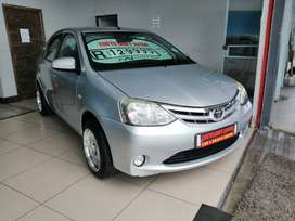 2013 TOYOTA ETIOS 1.5 XS SPRINT SEDAN WITH BRAND NEW MAGS AND TYRES