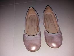 Baleriny różowe/pantofelki