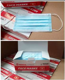 3 Ply surgical masks - R6.50ex.