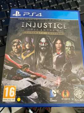 PS 4 Injustice Gods Among us (Ulimited Edition)
