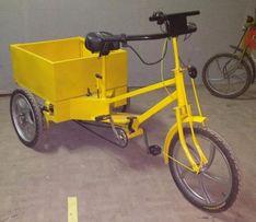 Электровелосипед трехколесный, грузовой