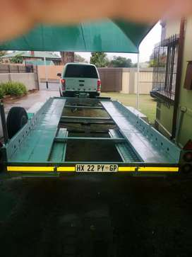 Towing trailer for hire