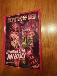 """Monster high film Dvd """"Upiorna Siła Miłości"""""""