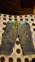 Spodnie jeans jeansowe rozmiar 62/68