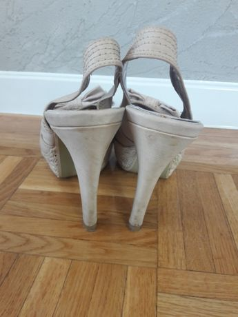 Sandały koturny buty Koluszki - image 4