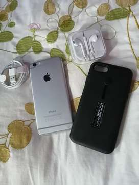 Iphone 6 with accessories