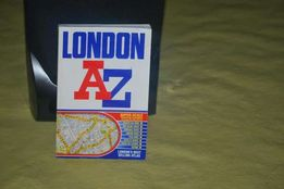 Książka mapa London AZ poradnik atlas