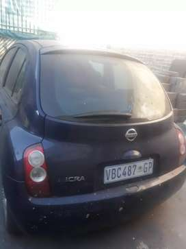 Stripping Nissan micra manual for spares and accessories