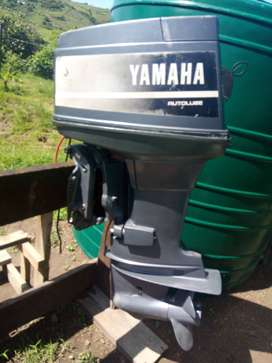 Yamaha 85hp outboard motor. Long shaft