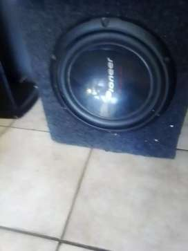 Starsound and and pioneer sub woofer for sale