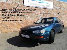 1 Owner Camry 220si