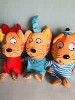 Мягкие игрушки Три кота
