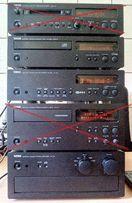 Yamaha AX-10 + CDX-9 + TX-10 + MDX-9 + KX-10 Топ Hi-Fi стійка