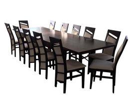 Duży Zestaw Stół 200x100/300 + 12 Krzeseł W Super Promocji! NAJTANIEJ