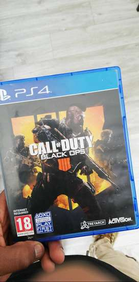 Call of duty black ops 4 ps4 R600 negotiable